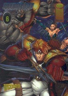 Wizard Promo Chromium insert #6 (Youngblood) near mint card