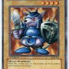 Yugioh Beaver Warrior (LOB-064) Unlimited Edition near mint card Common