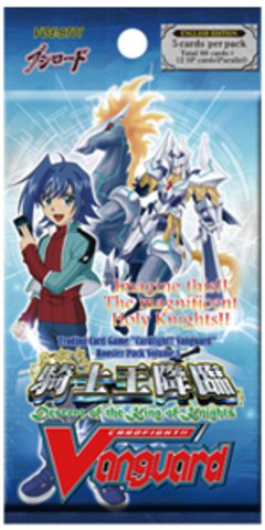 Cardfight Vanguard Booster Pack 1 (Descent of the King of Knights) English Edition