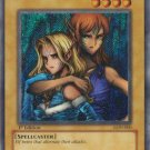 Yugioh Gemini Elf (LON-000) unlimited edition near mint card Secret Rare Holo