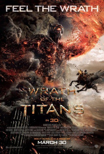 Wrath of the Titans Advance Promotional Mini Movie Poster (2012)