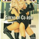 Femme Fatales Magazine Vol. 4 #7 very fine copy Sirens of CD-ROM