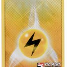Pokemon Promo Card League 2011-2012 Foil Lightning Energy Card #108/114