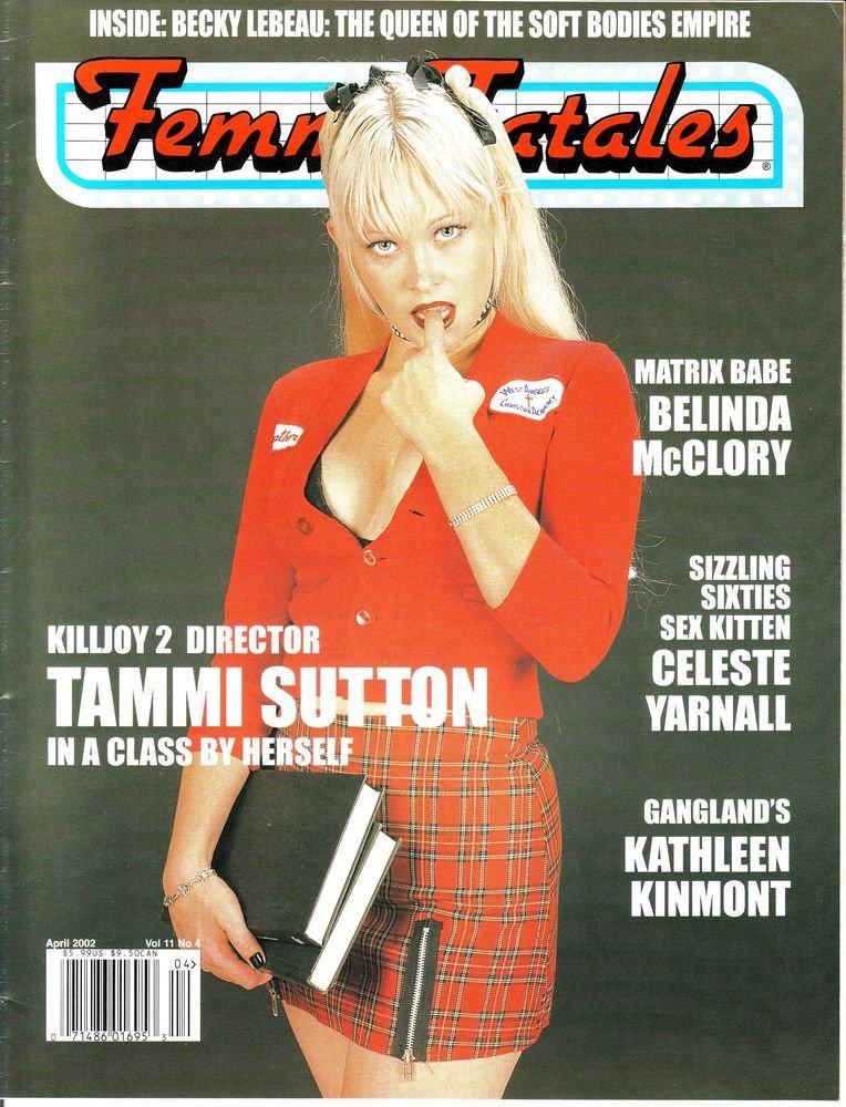 femme fatales magazine april 2002 vol 11 4 near mint magazine. Black Bedroom Furniture Sets. Home Design Ideas