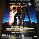 FANTASTIC 4 FOUR movie poster 27x19 Jessica Alba promo