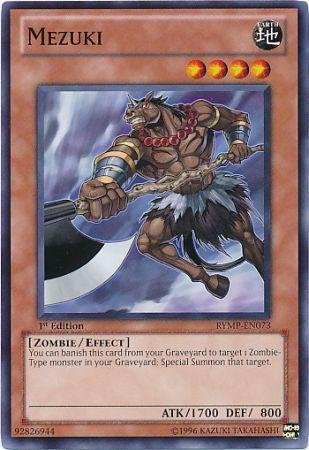 Yugioh Mezuki (RYMP-EN073) unlimited edition near mint card Common