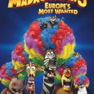 Madagascar 3 Advance Promotional Movie Poster (free shipping)
