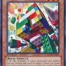 Yugioh Block Golem (REDU-EN035) 1st edition near mint card Common