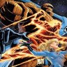 Fantastic Four Poster 24 x 36 inches (full size) art by Joe Quesada