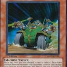 Yugioh Ally of Justice Searcher (HA02-EN019) unlimited edition near mint card Super Rare Holo