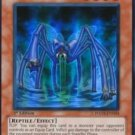 Yugioh Worm Millidith (HA02-EN024) unlimited edition near mint card Super Rare Holo