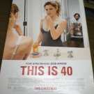 This is 40 Movie poster double sided d/s 27 x 40 inches (double-sided)