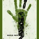 World War Z Advance Promotional Movie poster (B) 2013 Free Shipping