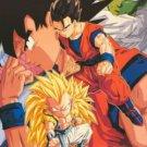 Dragonball Dragon Ball Z - Character Collage - Original 1998 22x34 Anime Poster