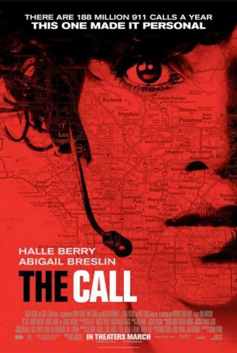 The Call Advance Promotional Movie poster (2013) Halle Berry Abigail Breslin