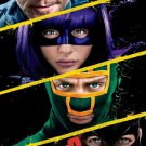 Kick-Ass 2 Advance Promotional Movie poster CHLOE GRACE MORETZ JIM CARREY
