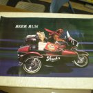 Vintage 1988 Alex's Beer Run Stroh's Beer Advertisement Poster 22 x 34 inches