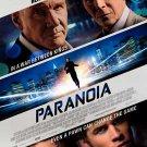 Paranoia Movie Poster (2013) 27 x 40 Harrison Ford Liam Hemsworth Gary Oldman