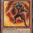 Yugioh Achacha Chanbara (ABYR-EN003) Unlimited edition near mint card Common
