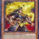 Yugioh Brotherhood of the Fire Fist - Raven (CBLZ-EN022) unlimited edition near mint card Common