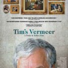 Penn & Teller's TIM'S VERMEER MOVIE POSTER 27x40 D/S DOUBLE SIDED