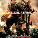 Edge of Tomorrow Advance Promotional Movie poster (2014)