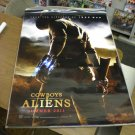 Cowboys & And Aliens Movie poster 27 x 40 inches d/s double-sided Harrison Ford
