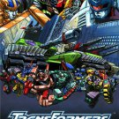 Transformers Armada poster (2002) 26 x 39 inches vintage