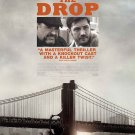The Drop Movie poster 27 x 40 inches (2014) James Gandolfini Noomi Rapace Tom Hardy