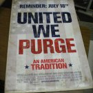 Purge Anarchy Movie poster (2014) 27 x 40 inches d/s