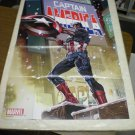 Captain America poster (2013) full size 24 x 36 inches (Pacheco)
