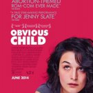 Obvious Child Movie Poster d/s 27 x 40 inches
