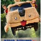 Dumb and Dumber To Movie Poster 2014 D/S 27x40 Jim Carrey Jeff Daniels
