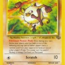 Pokemon Mankey (Jungle) 55/64 1st edition near mint card Common