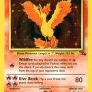 Pokemon Moltres (Fossil) Unlimited Edition #27/62 near mint card Rare Non Holo