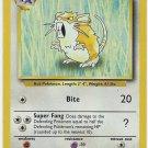 Pokemon Raticate (Base Set One) 40/102 Unlimited Edition near mint card Uncommon