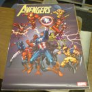 Vintage Avengers poster 24 x 36 inches art by Tom Grummett (2005)