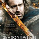 Season of the Witch Advance Promotional Movie Poster Nicolas Cage Ron Perlman