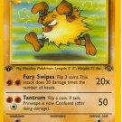 Pokemon Primeape (Jungle) 1st edition near mint card Uncommon