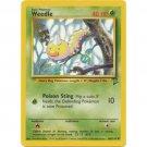 Pokemon Weedle (Base Set Two 2) #100/130 near mint card Common