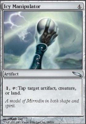 MTG Icy Manipulator (Mirrodin) near mint card