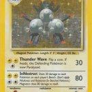 Pokemon Magneton (Base Set One) #9/102 Rare Holo near mint card Unlimited Edition