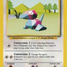 Pokemon Porygon (Base Set One) #39/102 near mint card Unlimited Edition Uncommon