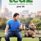 Ted 2 Thunder Buddies For Life Movie Poster (2015) d/s 27x40 inches 'B'