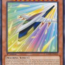 Yugioh Rocket Arrow Express (GAOV-EN016) Unlimited edition near mint card Rare