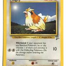 Pokemon Pidgey (Base Set 2) #86/130 near mint card Common