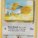 Pokemon Doduo (Base Set 2) #72/130 near mint card Common