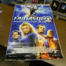 Fantastic Four Rise of the Silver Surfer Movie Poster (2007) 27 x 40 inches FREE SHIPPING