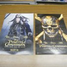 Pirates of the Caribbean Dead Men Tell No Tales Movie Poster d/s 13x20 inches FREE SHIP A