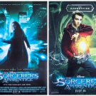 The Sorcerer's Apprentice Advance Promotional Movie poster Nicolas Cage d/s